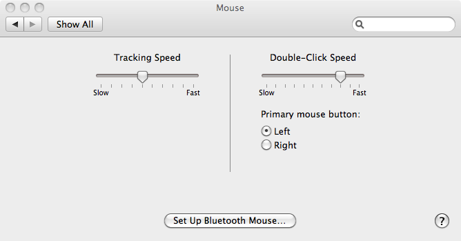 how to get optimal mouse settings