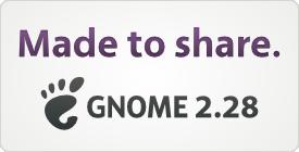 GNOME 2.28 - Made to Share!