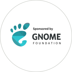 Sponsored by GNOME